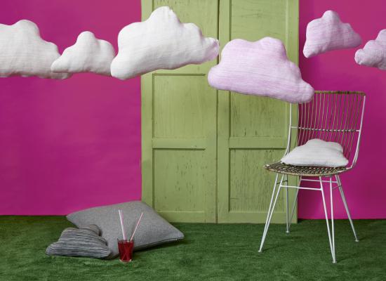 Wolken kussens